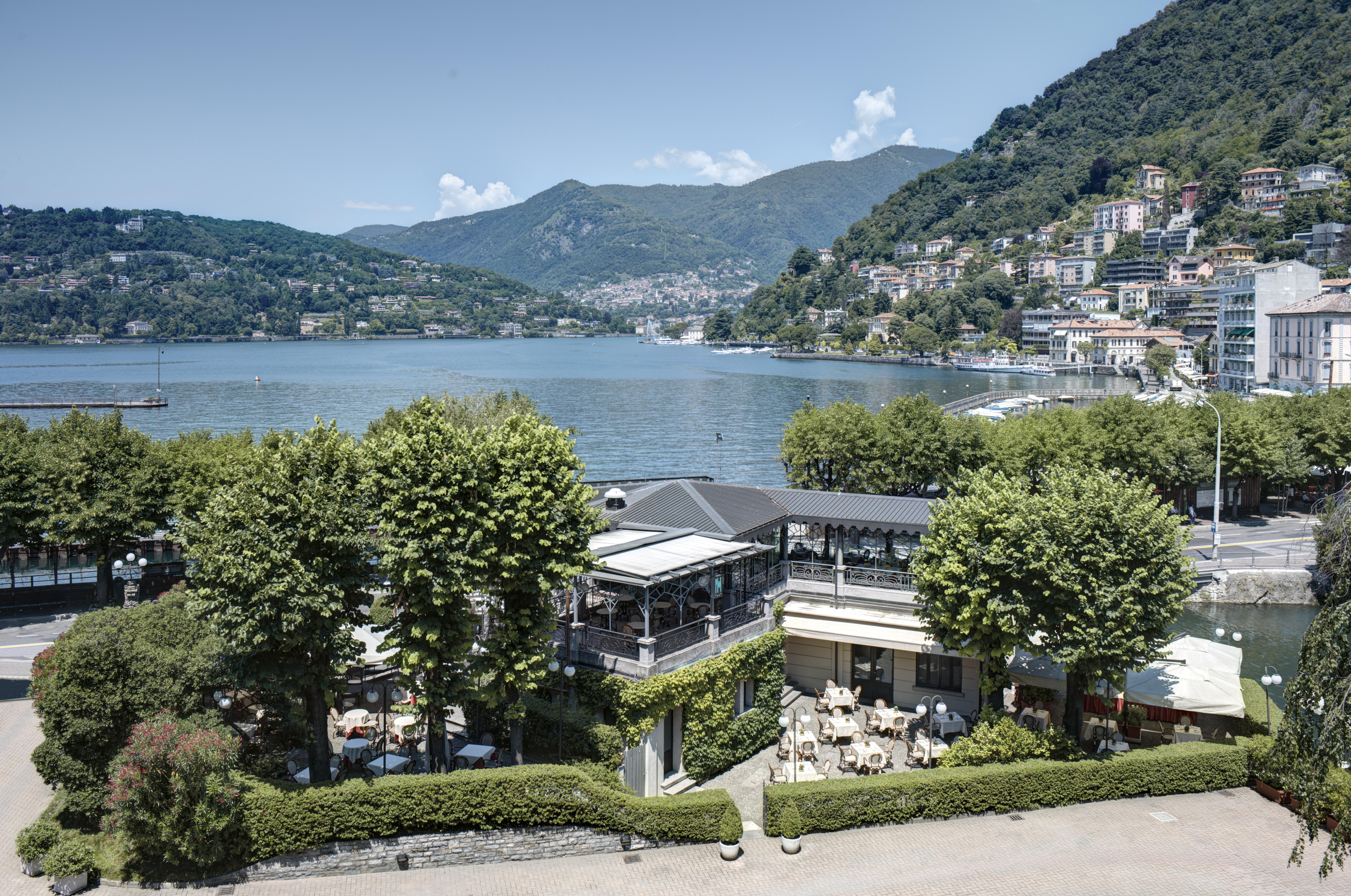 La storia sul lago di como hotel domani for Villa d este como ristorante