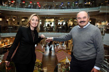 Elisabetta Fabri (Starhotels) & Oscar Farinetti (Eataly)