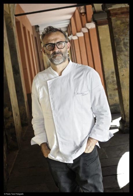 Lo chef pluristellato Massimo Bottura