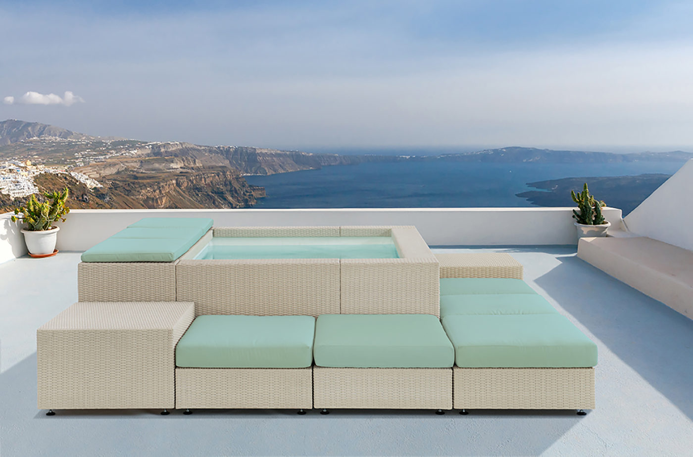Playa Living Piscina O Salotto Hotel Domani