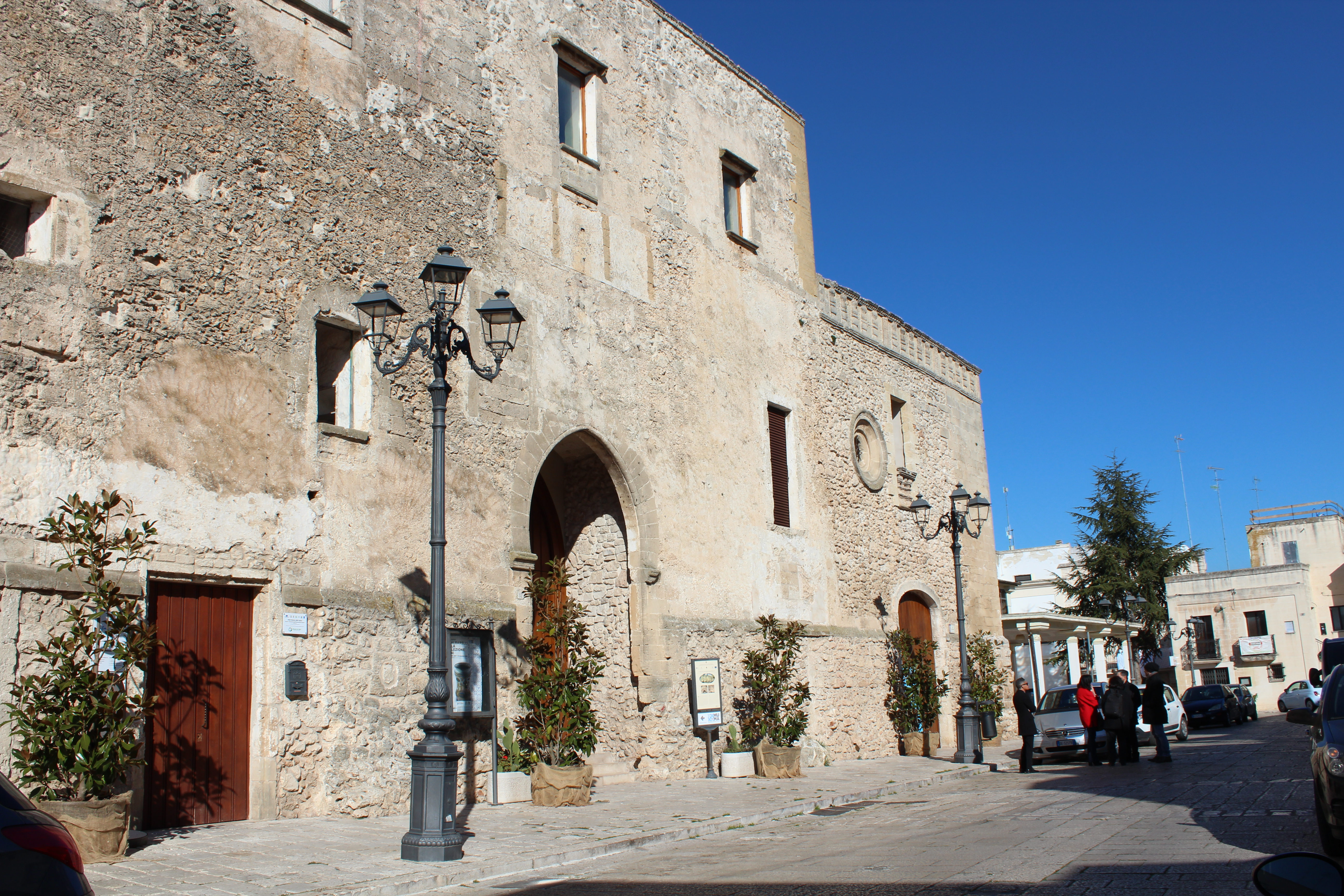 Palazzo Marchesale, nel centro storico di Laterza