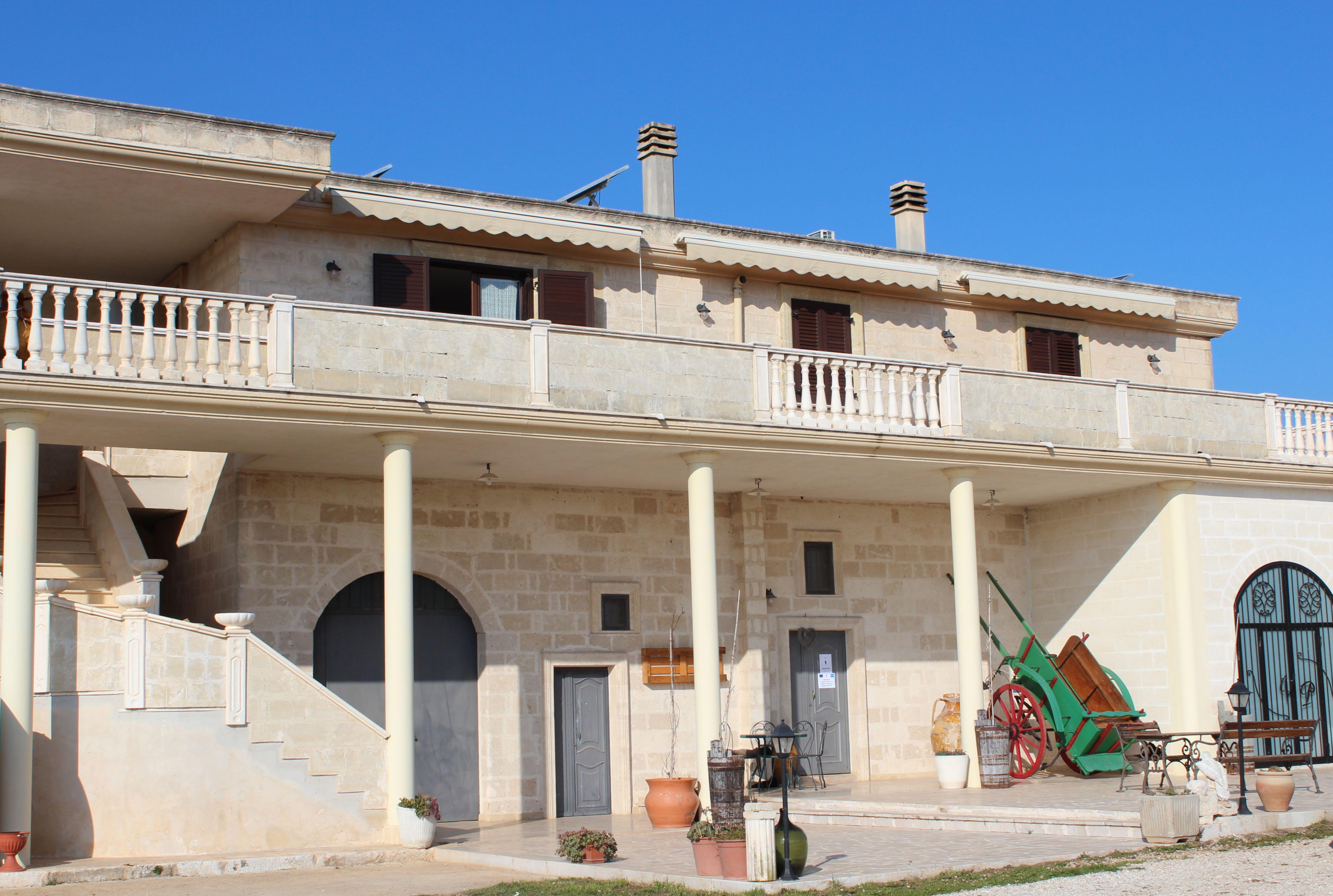 uno scorcio della Masseria Moretti, Laterza (TA)