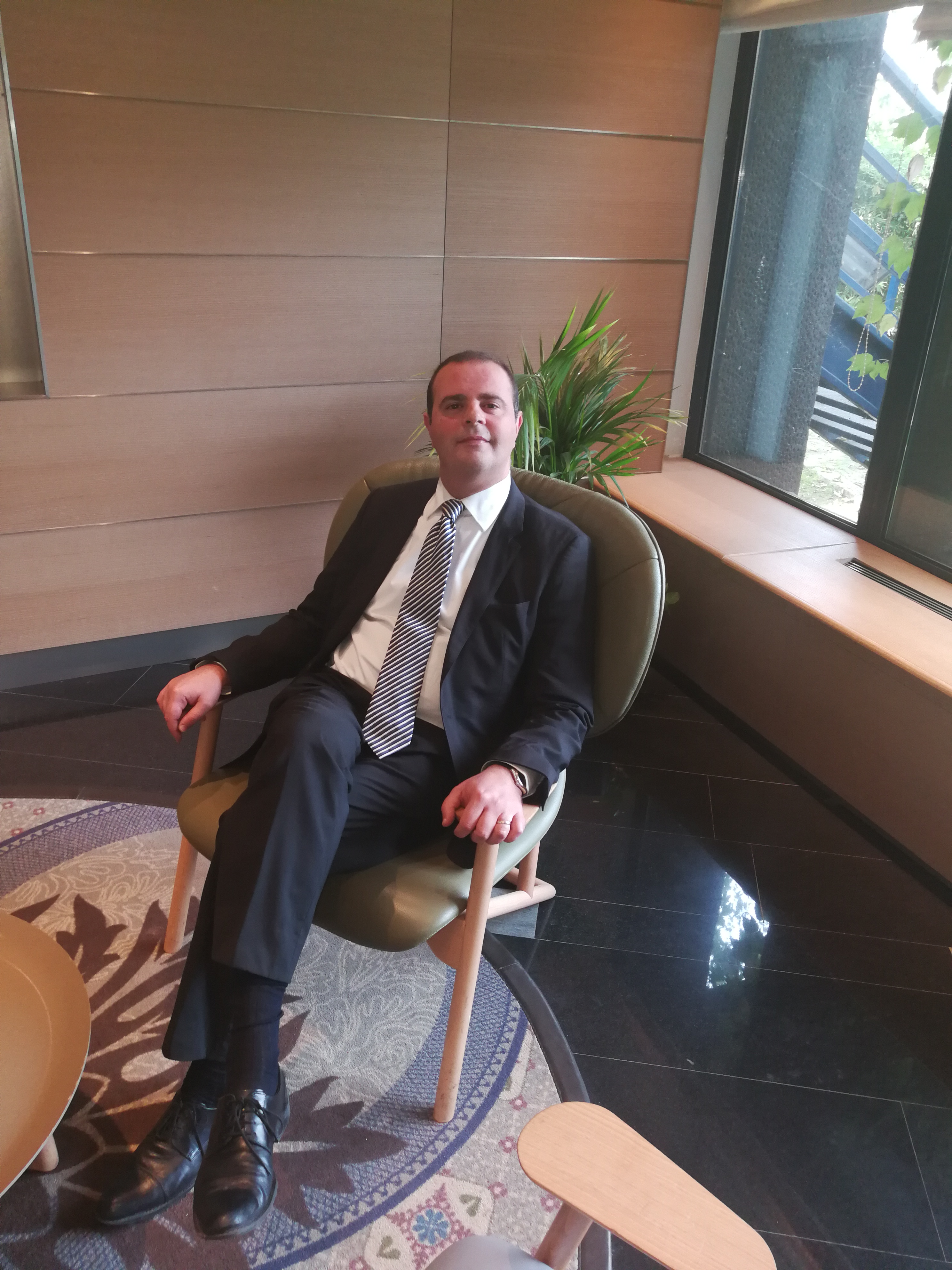 Antonio Caruso, F&B Manager del Crowne Plaza Milano Linate