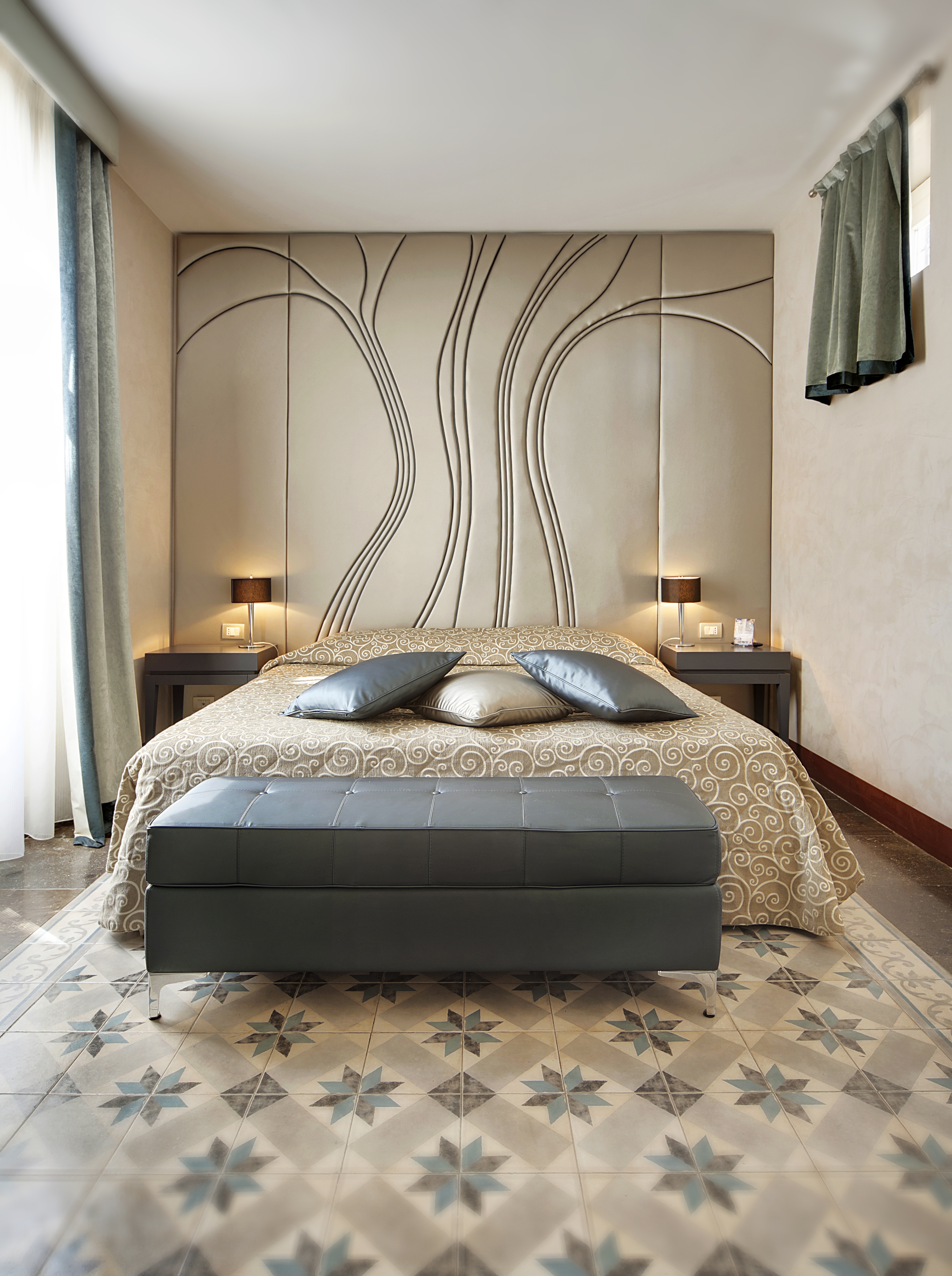 Una camera del De Stefano Palace Luxury Hotel