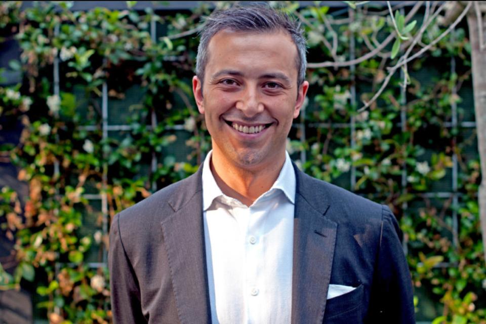 Fabio Serafini, director F&B dell'Hyatt Regency Amsterdam