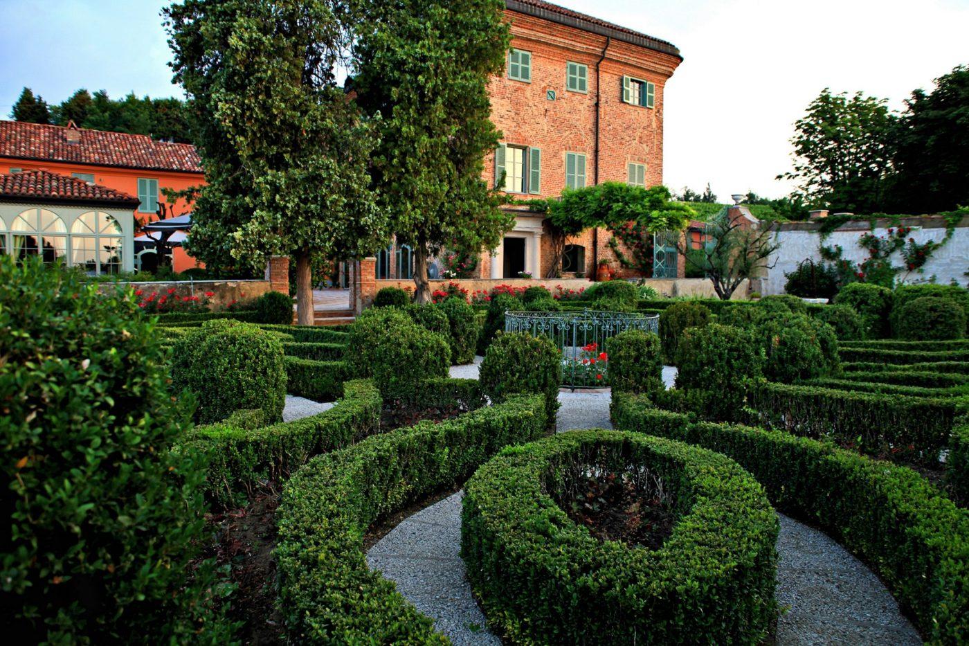 Il giardino del Relais del Sant'uffizio