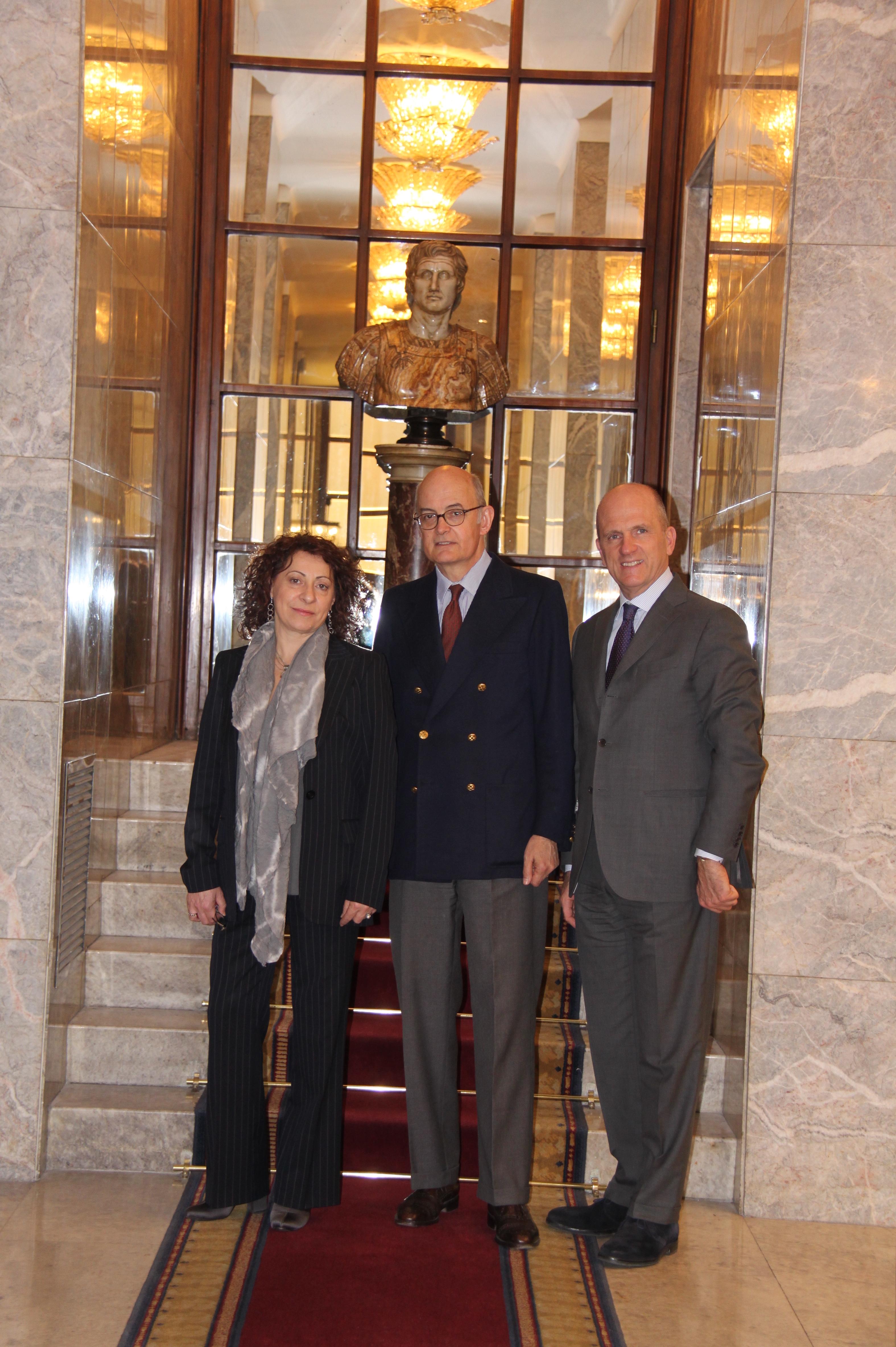 Bettoja Hotels: Daniela Baldelli, Maurizio Bettoja (Presidente), Ciro Verrocchi