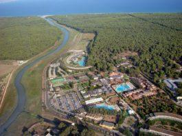 Una veduta panoramica dell'Ethra Reserve che comprende il Kalidria Hotel