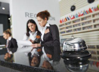 Reception di hotel