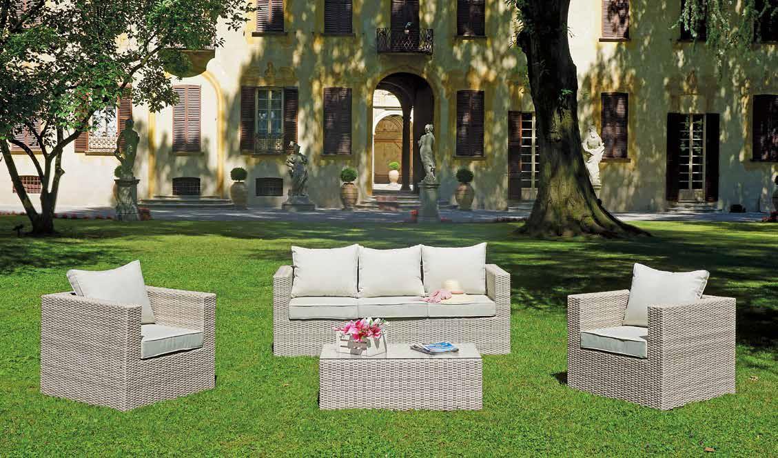 La nuova collezione per l'outdoor Set Santiago