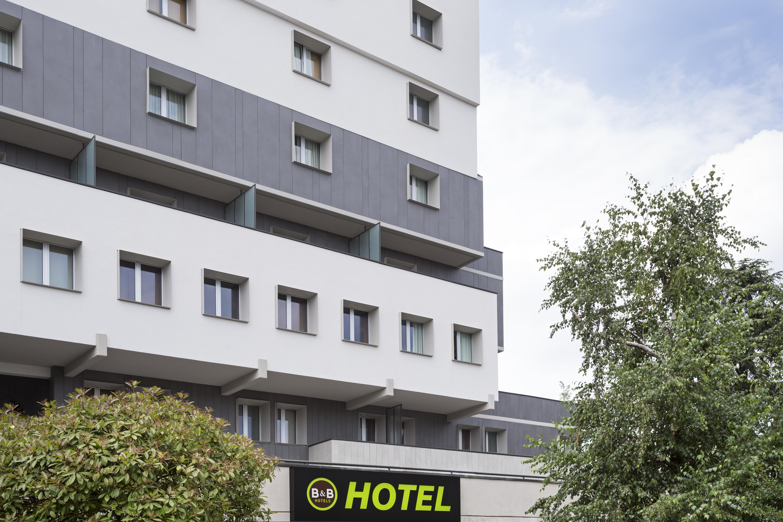 La Facciata del B&B Hotel Modena