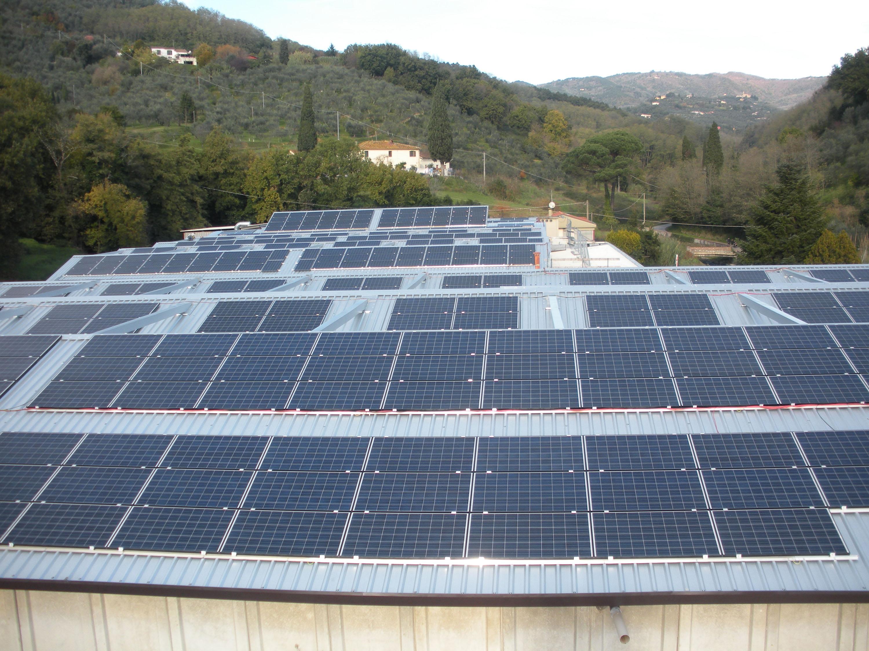 L'impianto fotovoltaico di Cinelli Piume e Piumini