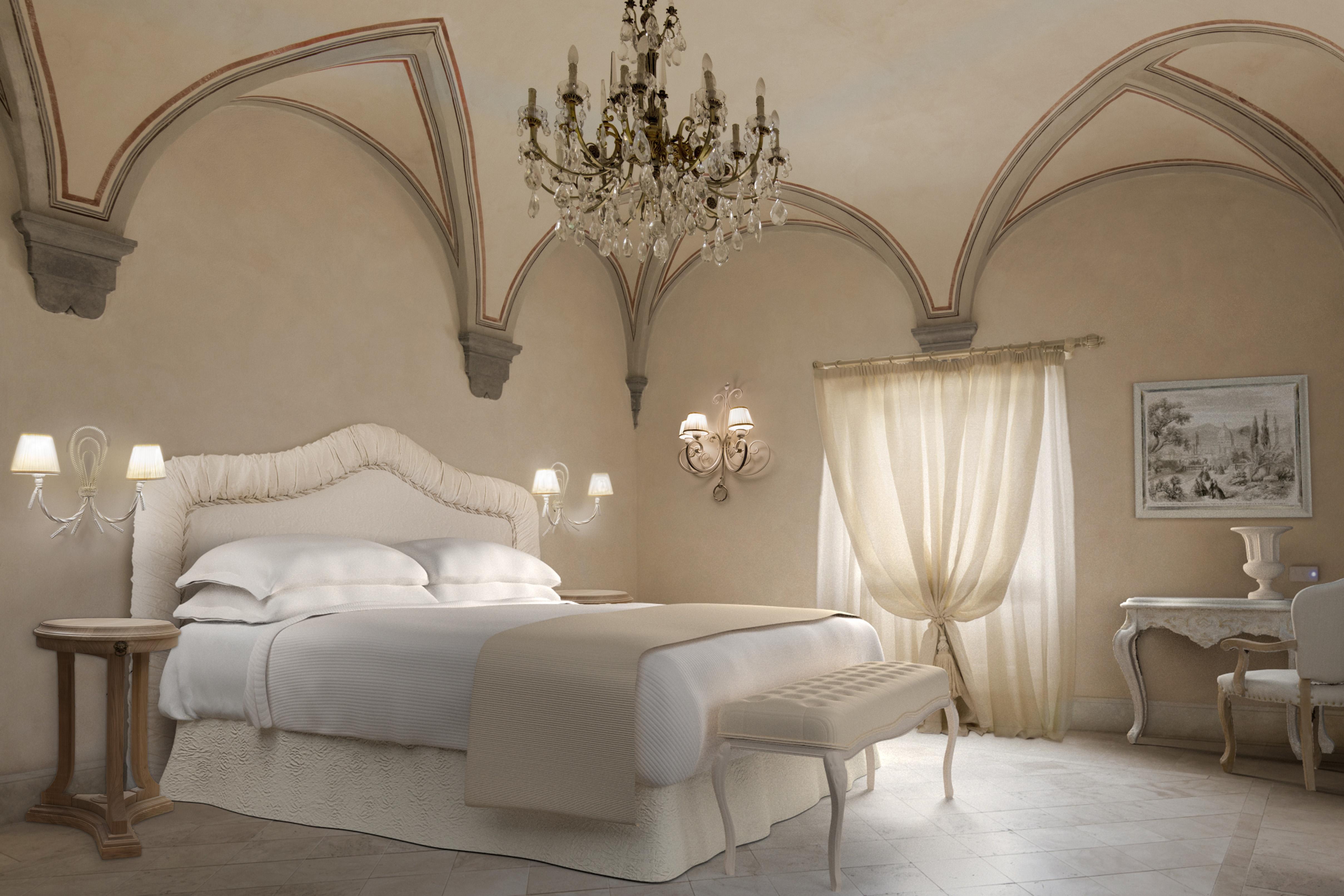 Una junior suite del Monastero di Cortona