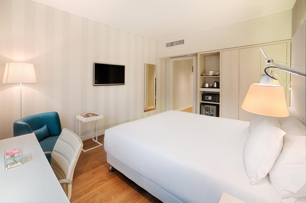Una camera dell'NH Torino Centro