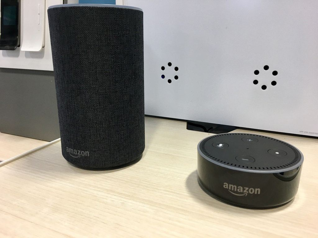 L'assistente vocale Amazon Alexa