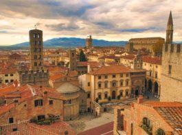 Arezzo, una veduta panoramica