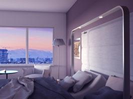 la camera d'hotel accessibile del progetto Twee