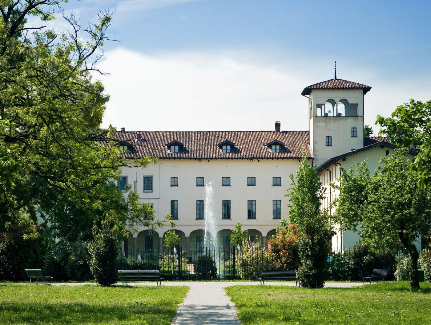 Uno scorcio esterno del Grand Hotel Villa Torretta Curio Collection