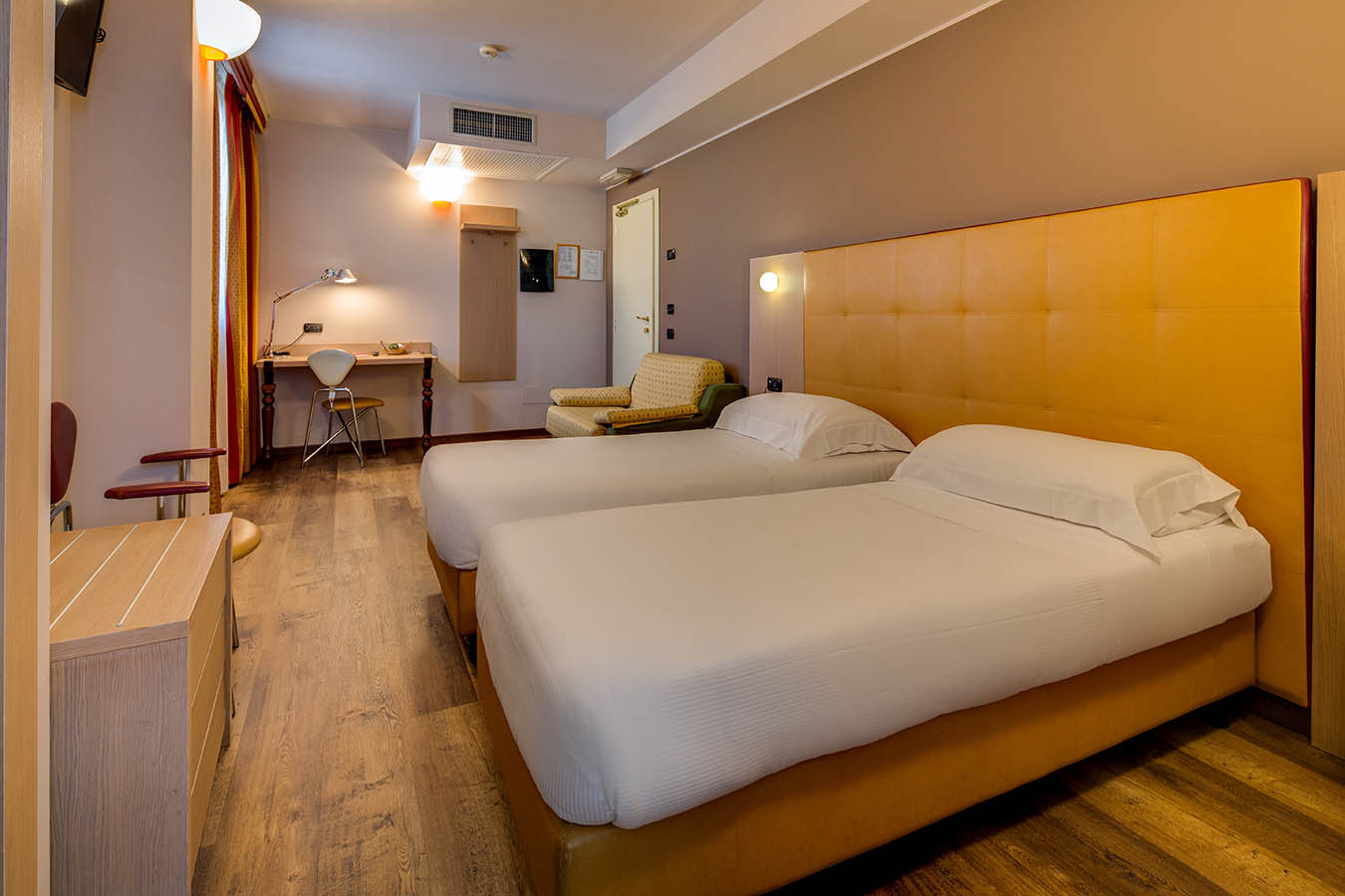 Una camera del Best Western Art & Hotel