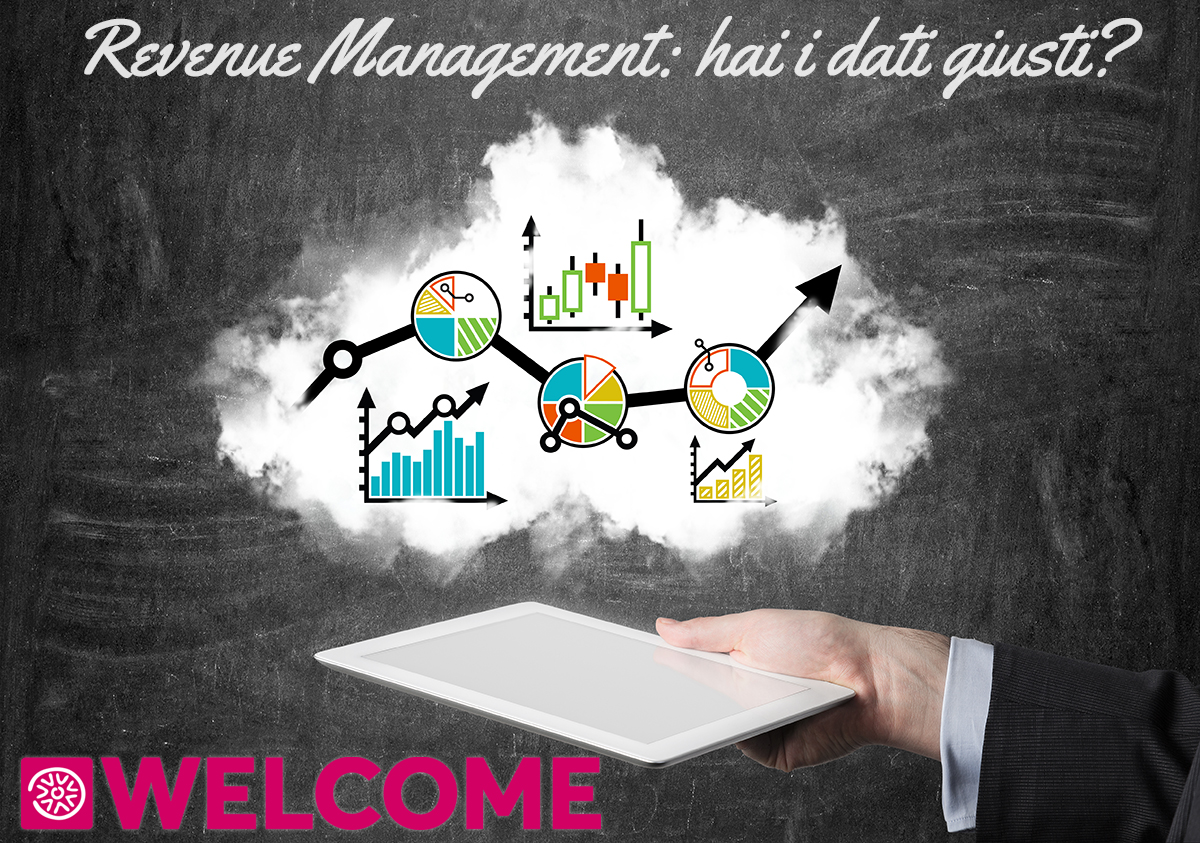 Revenue Managemente: un tablet con grafico azionario