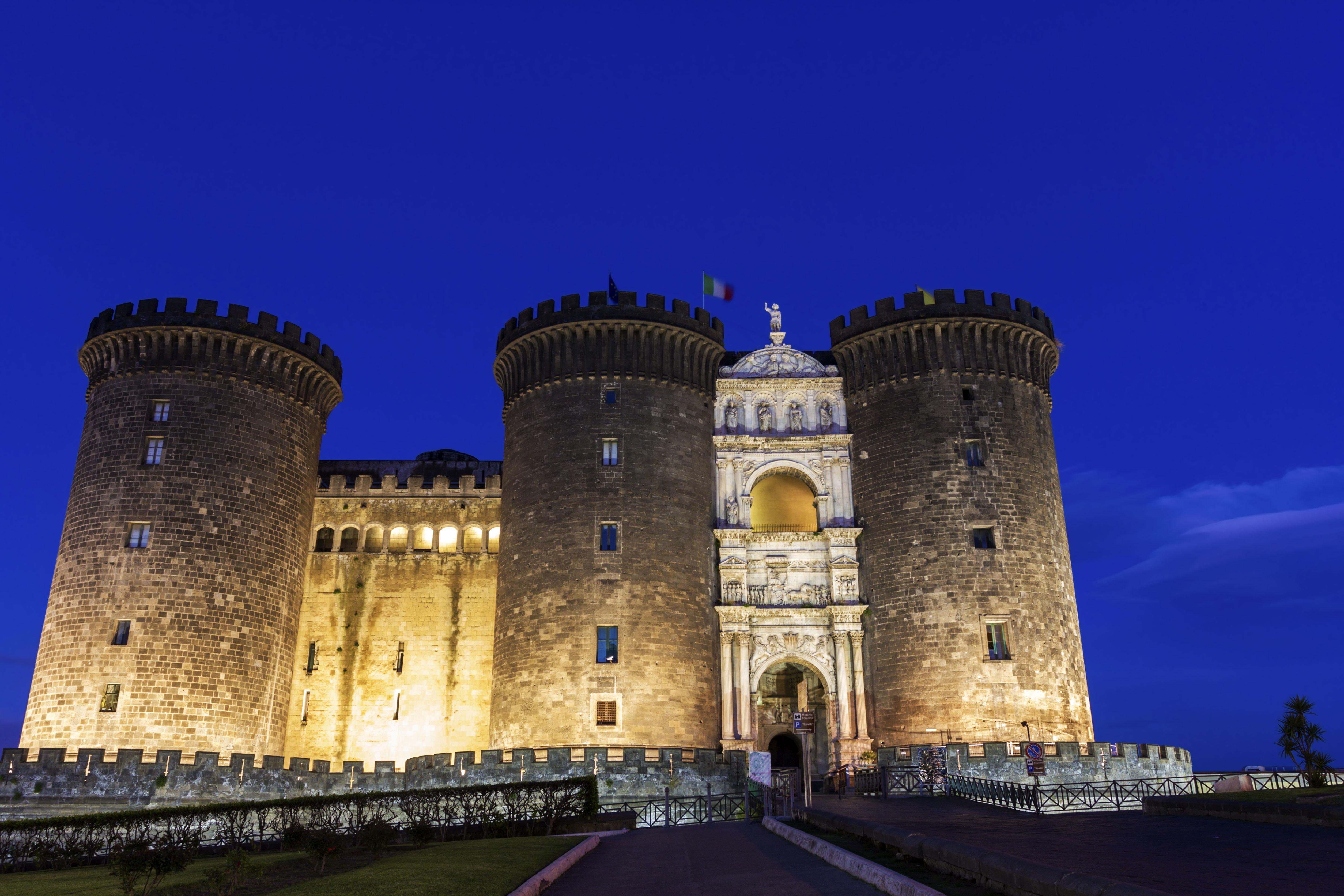 Il Maschio Angioino, uno dei simboli di Napoli
