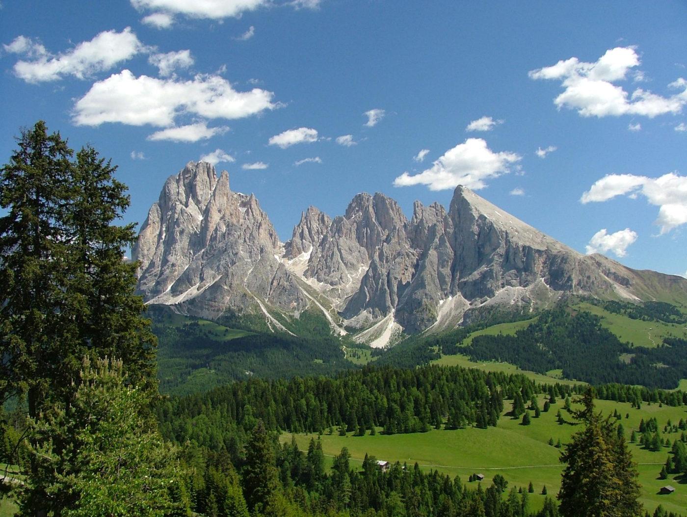 Un paesaggio dolomitico del Sud Tirolo