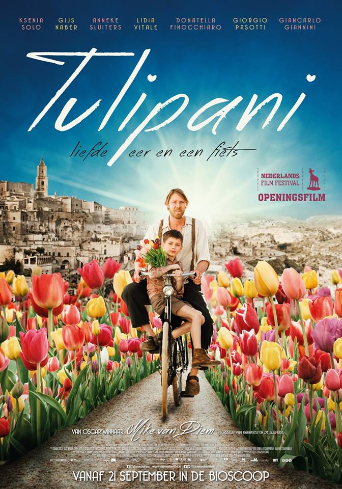 La locandina del film Tulips Mike van Diem