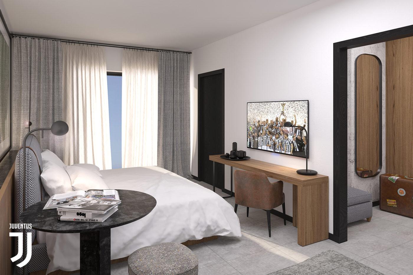 una camera del J Hotel