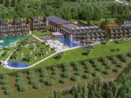 Un rendering del Quellenhof Luxury Resort Lazise (panoramica)