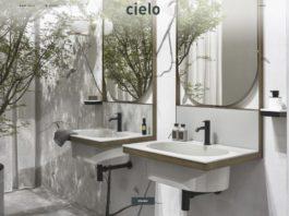 Home page del nuovo sito di Ceramica Cielo