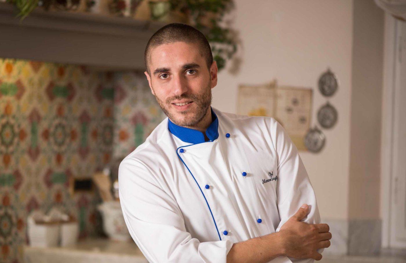 Marco Scaglione, esperto di cucina gluten free