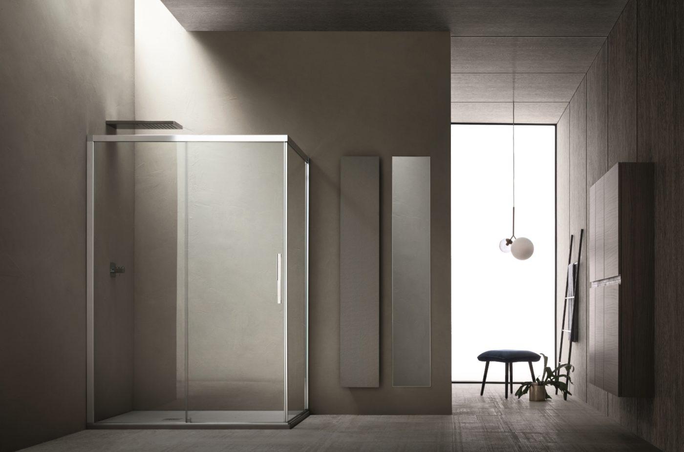 Cabine Doccia Complete : Sistema di chiusura doccia sirio di arblu eleganza e funzionalità