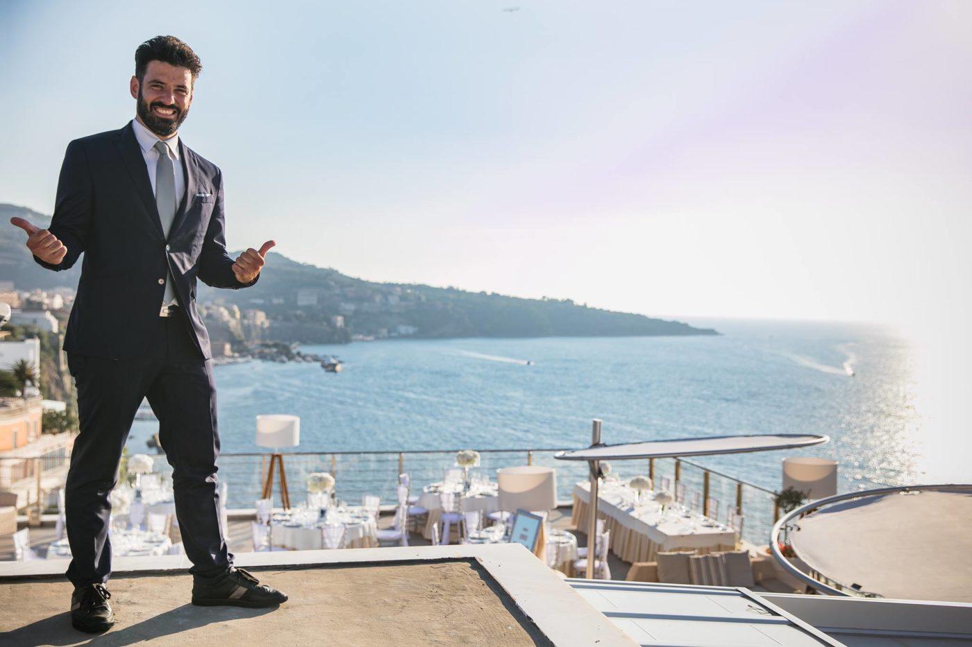 Francesco Monti, F&B Manager Hotel Mediterraneo Sorrento