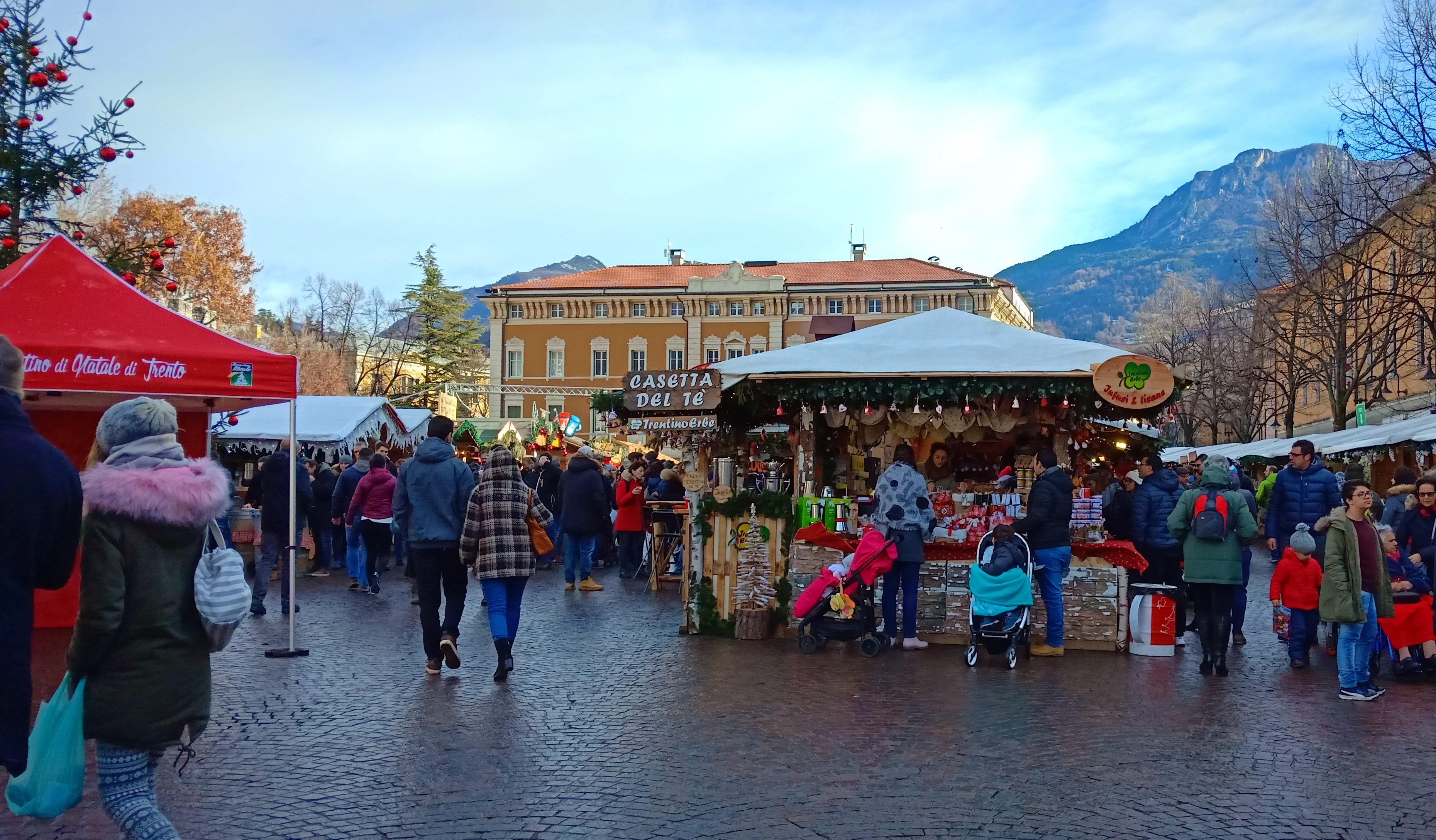 Il mercatino di Natale di Trento