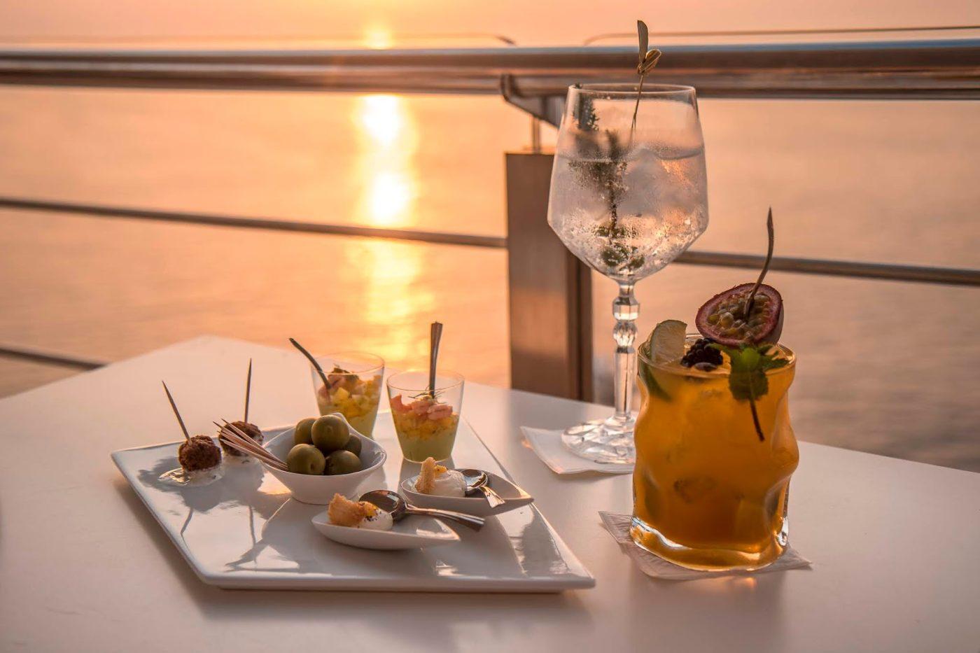 Vista Caipiroska, uno dei drink più richiesti in hotel