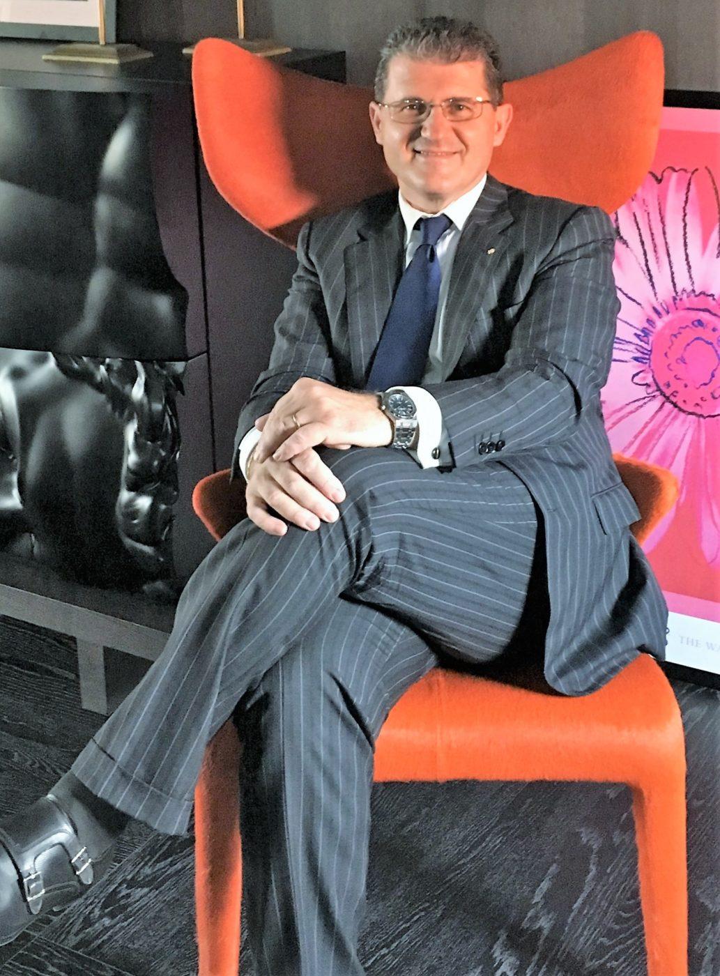 Luca Rombi, nuovo direttore del Bettoja Hotel Massimo D'Azeglio di Roma