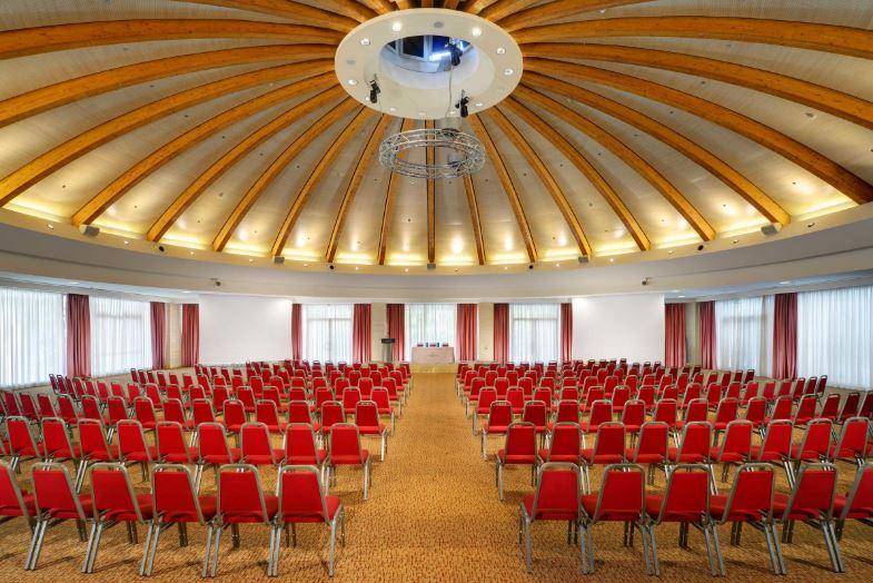 Una sala congressi dell'Una Hotels Expo Fiera Milano
