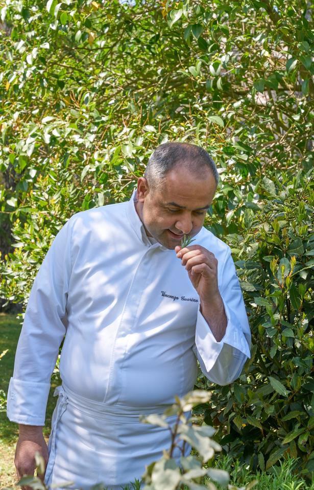 Vincenzo Guarino, Executive chef del Mandarin Oriental Lago di Como
