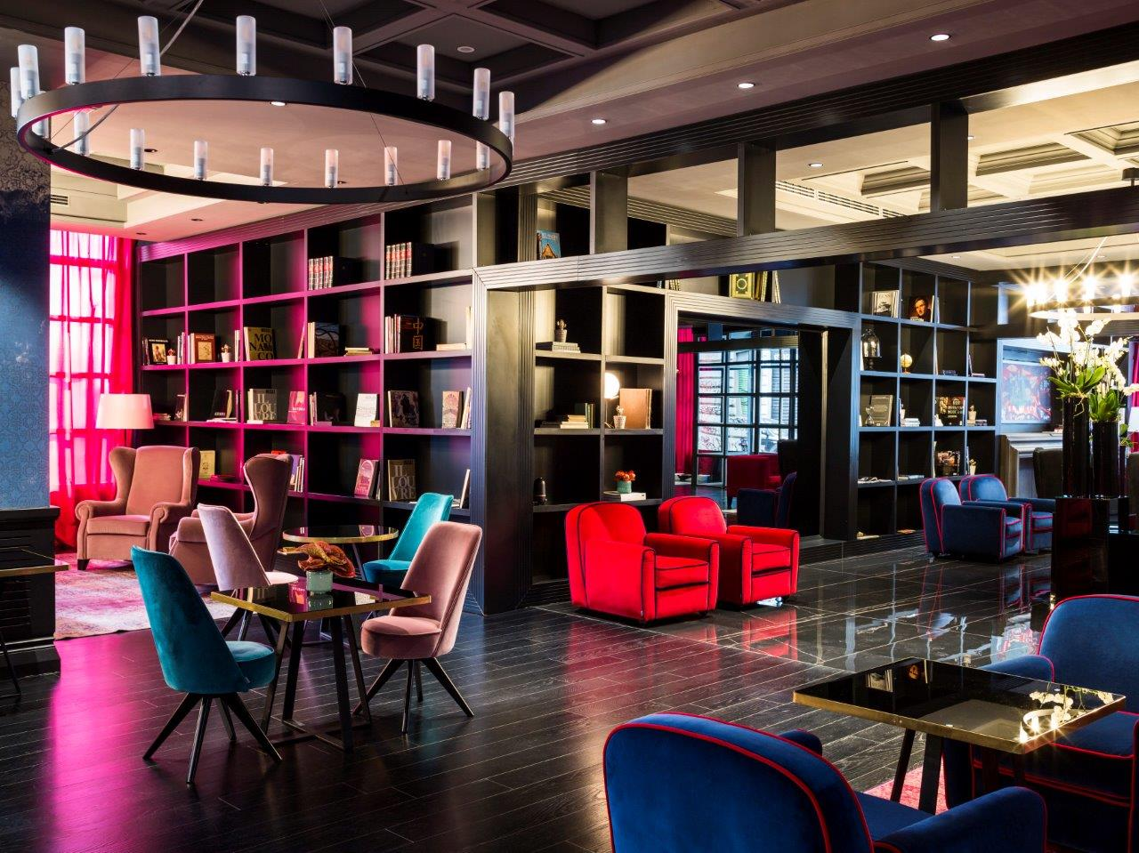 La hall del design hotel Fifty House Soho