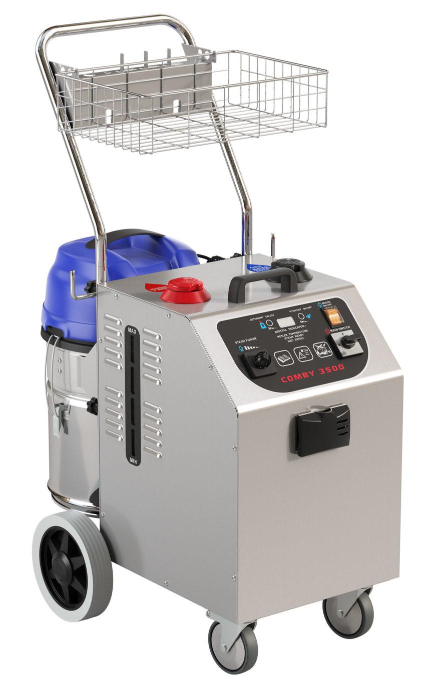 la macchina che semplifica la pulizia in hotel, Comby 3500