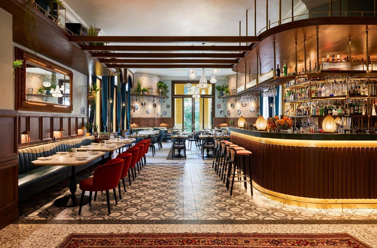 Il bar ristorante del Indigo Venice Sant'Elena