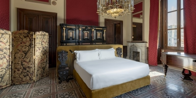 Una camera del Room Mate Sicilia