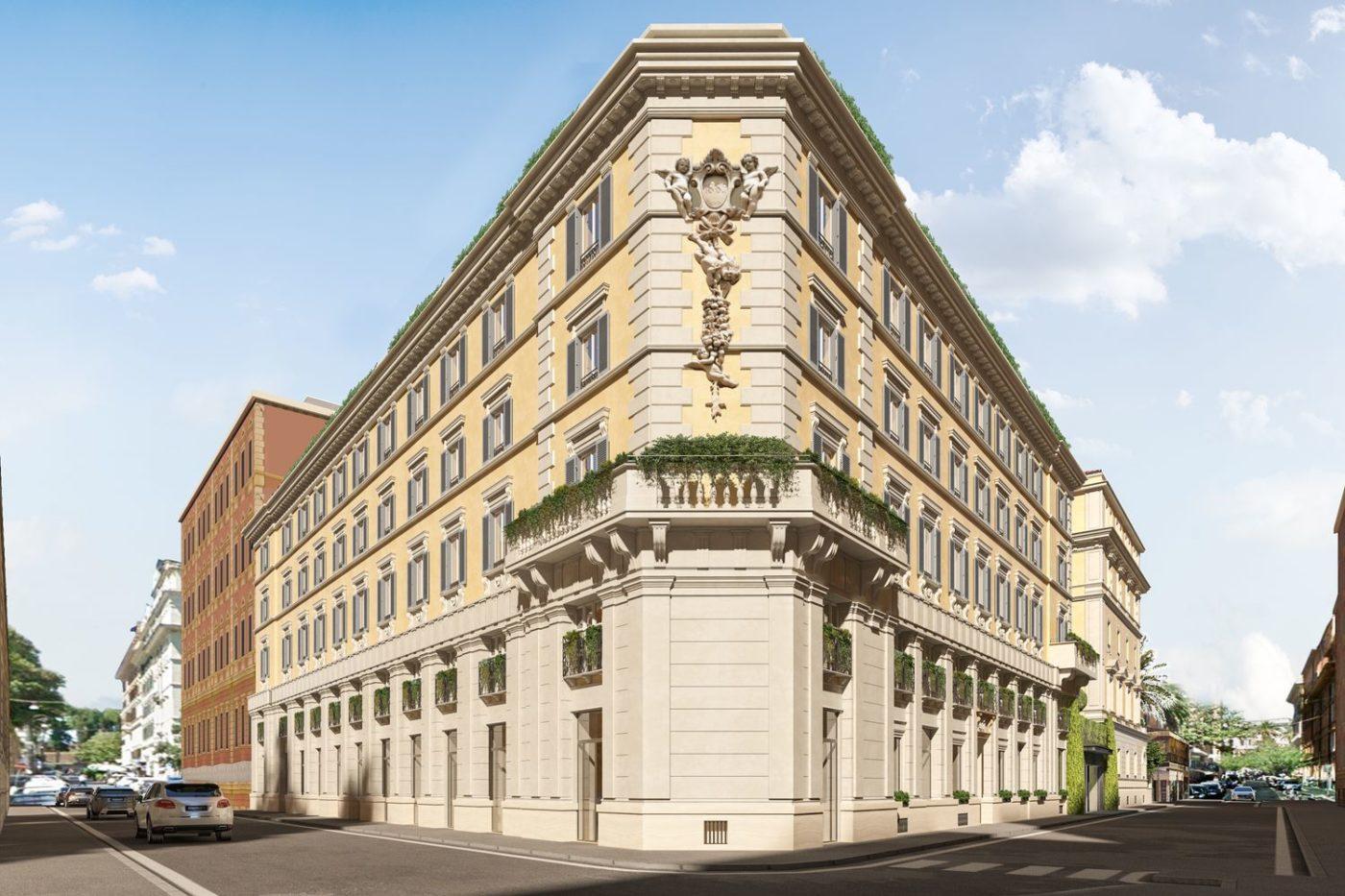 La facciata del W Rome
