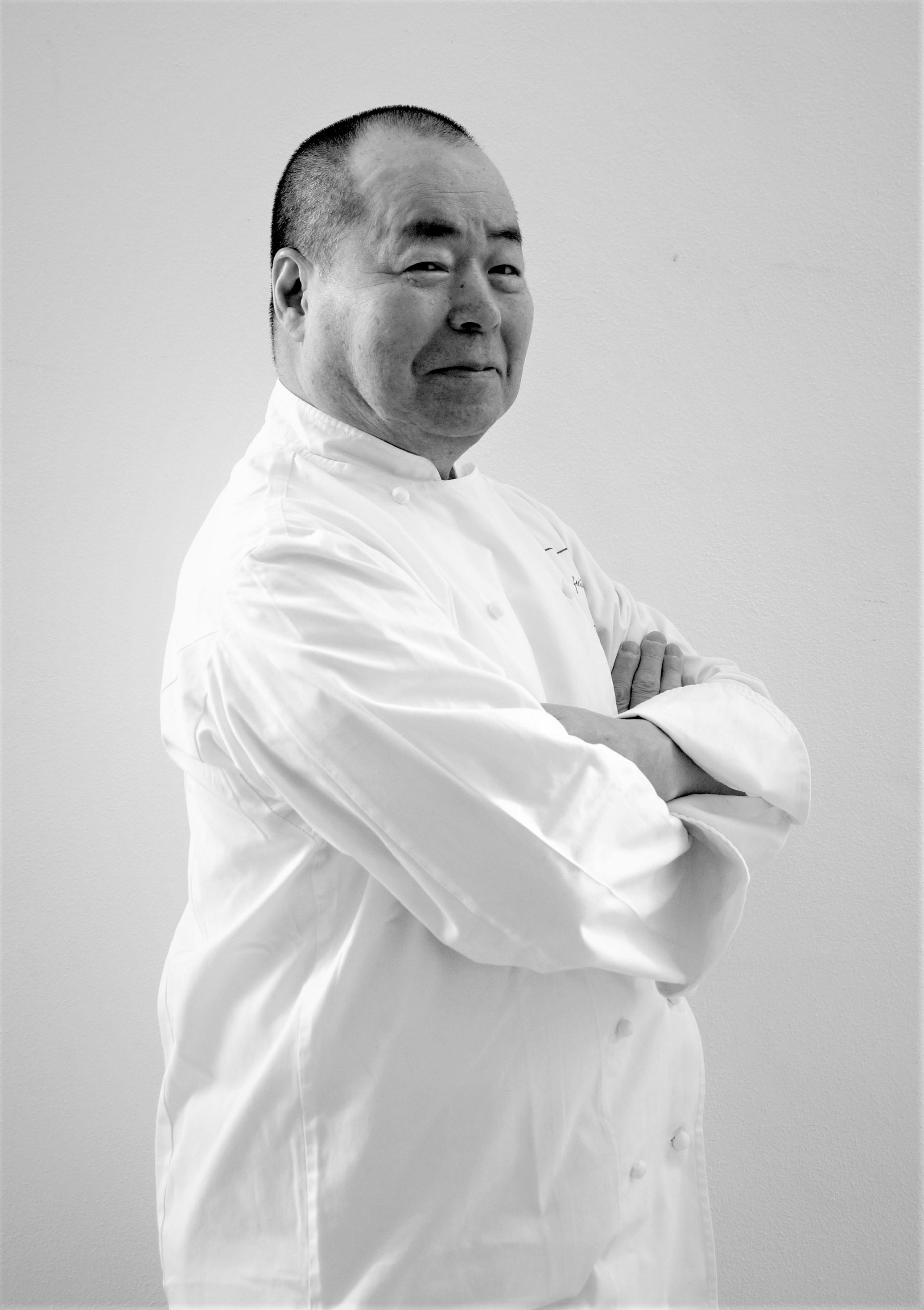 lo chef giapponese stellato Haruo Ichikawa