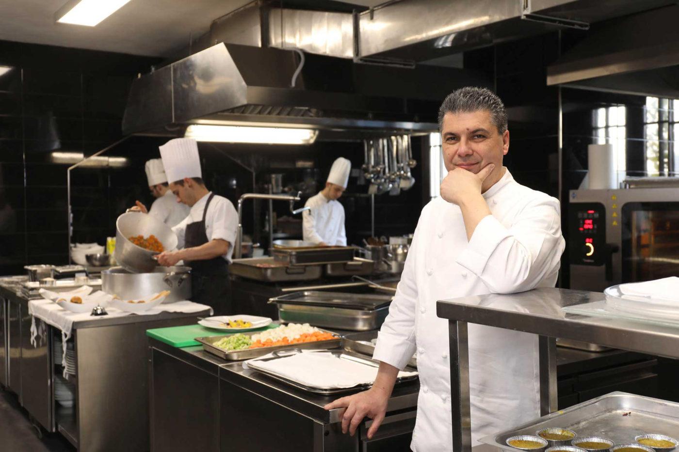 Lo chef Beppe Maffioli dà consigli per migliorare il buffet