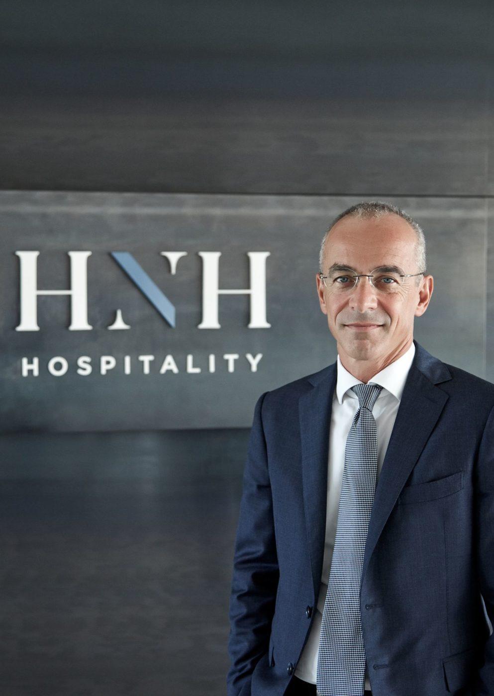 Luca Boccato AD di HNH Hospitality
