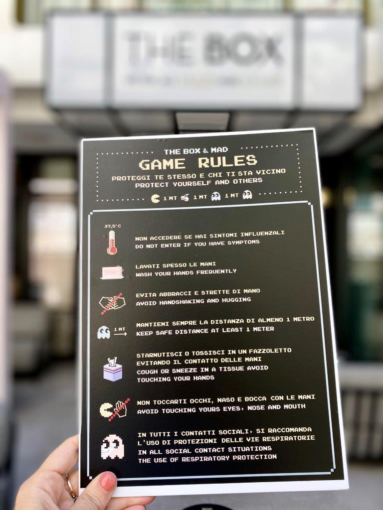 The Box Riccione - Game Rules