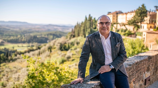 Isidoro Di Franco, General Mangager di Toscana Resort Castelfalfi,