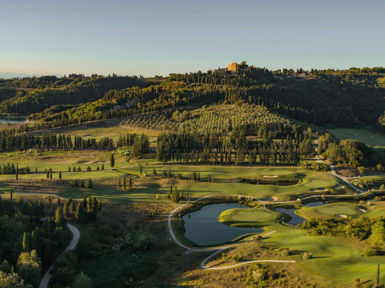 Toscana Resort Castelfalfi, il campo da golf