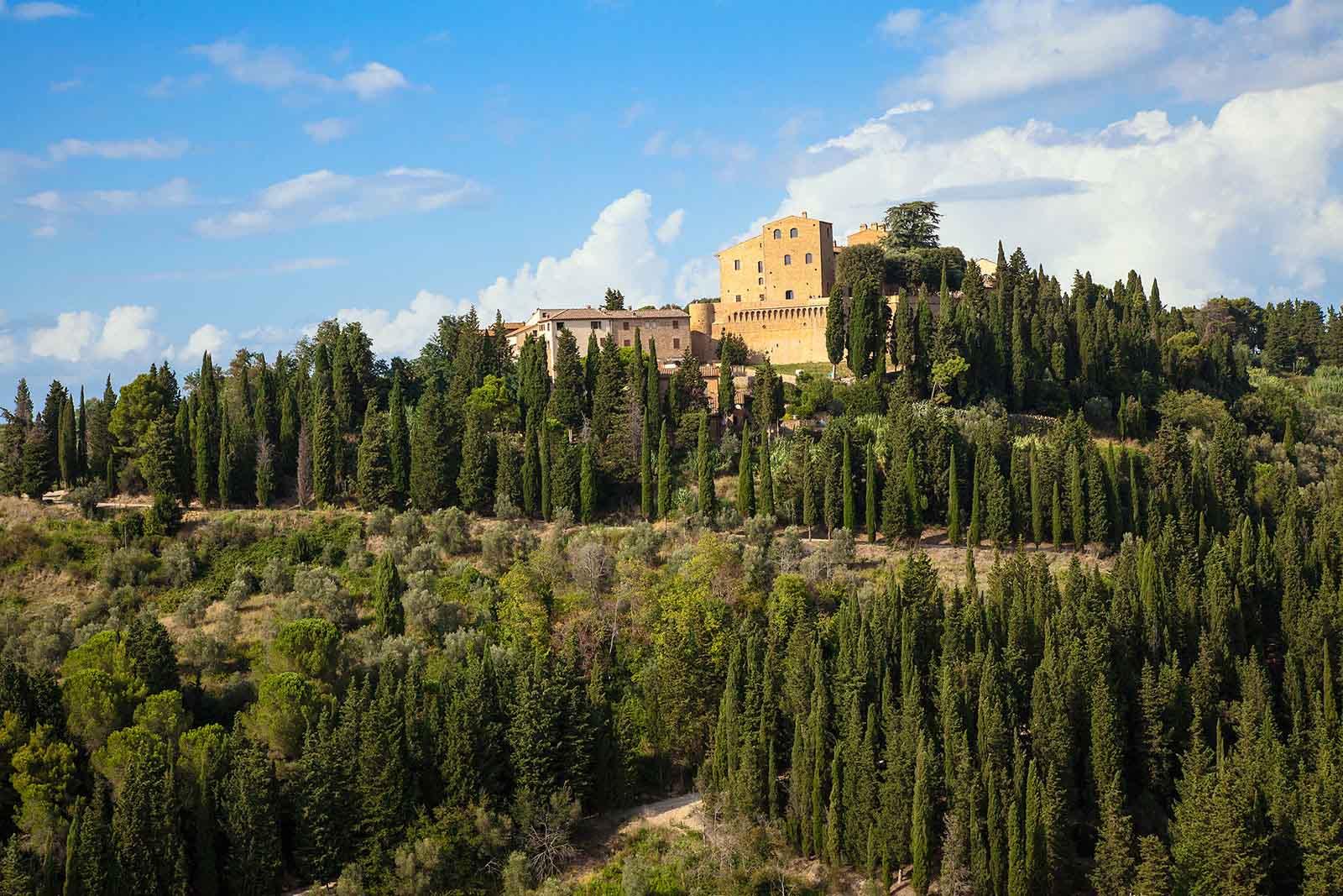 Toscana Resort Castelfalfi, il castello